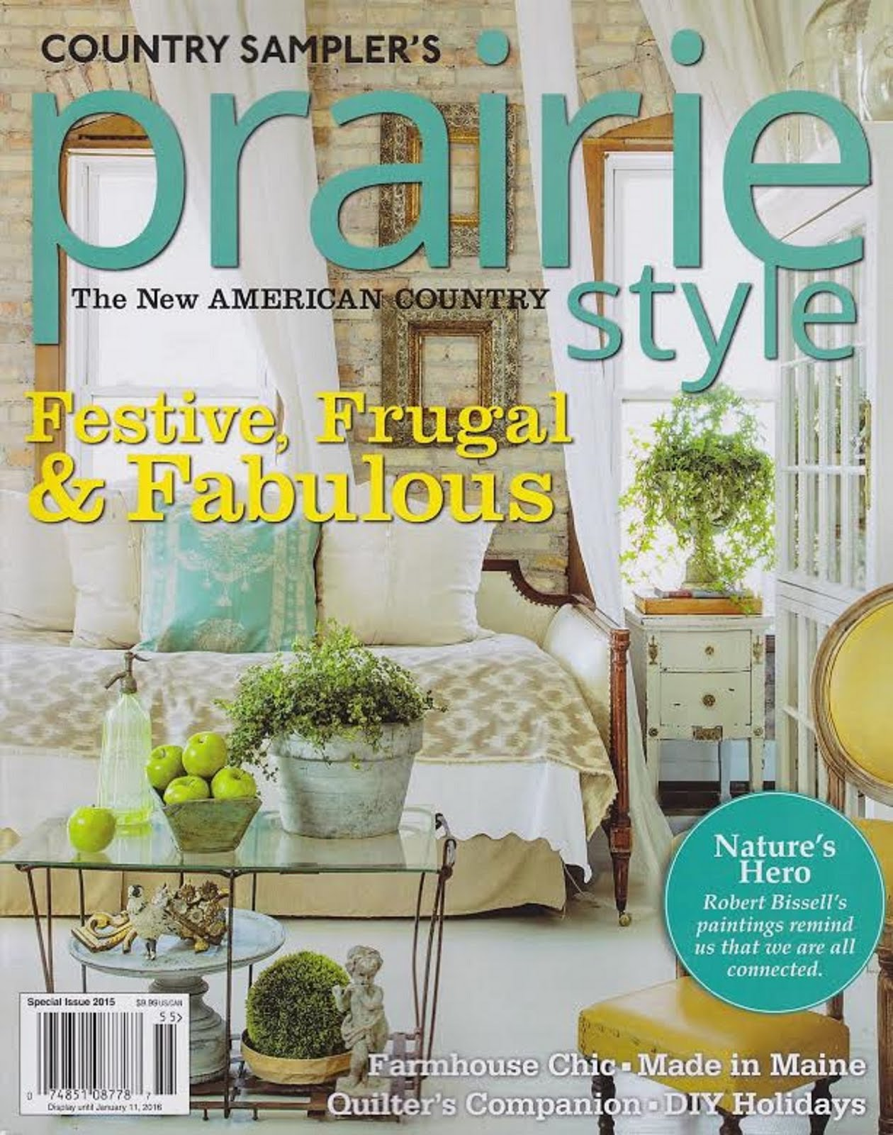 Thank you Fifi O'Neill! Prairie Style & The PORCH & Atelier