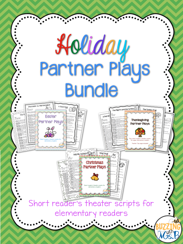 https://www.teacherspayteachers.com/Product/Holiday-Readers-Theater-Scripts-Bundle-12-Partner-Plays-for-Two-Readers-1763228