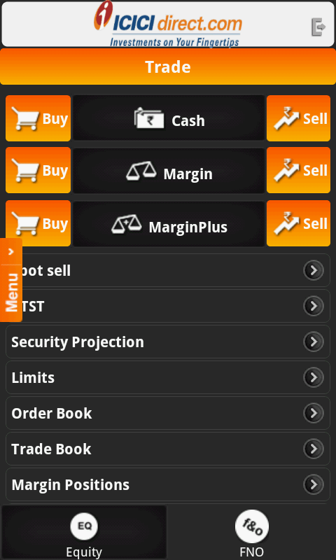 Mobile Trading Appication ICICIdirect.com - ICICI ...