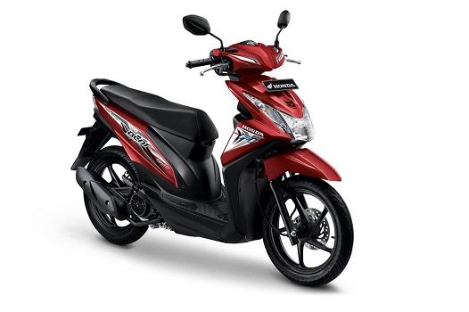 Honda Beat Full Merah