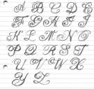 Design tattoo font