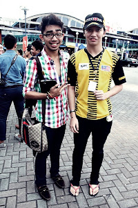 Heyy! This is my friend Irfan. We met at the TwtupKami. Yeah , it was a great moment. Thank you.