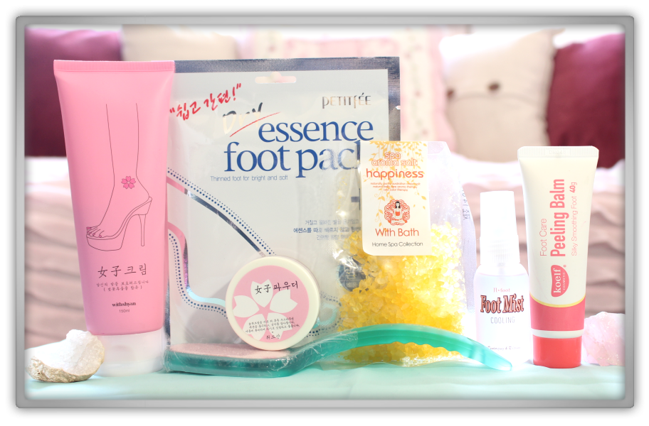 겟잇뷰티박스 by 미미박스 memebox beautybox Superbox #39 Foot Care 2 box unboxing review look inside