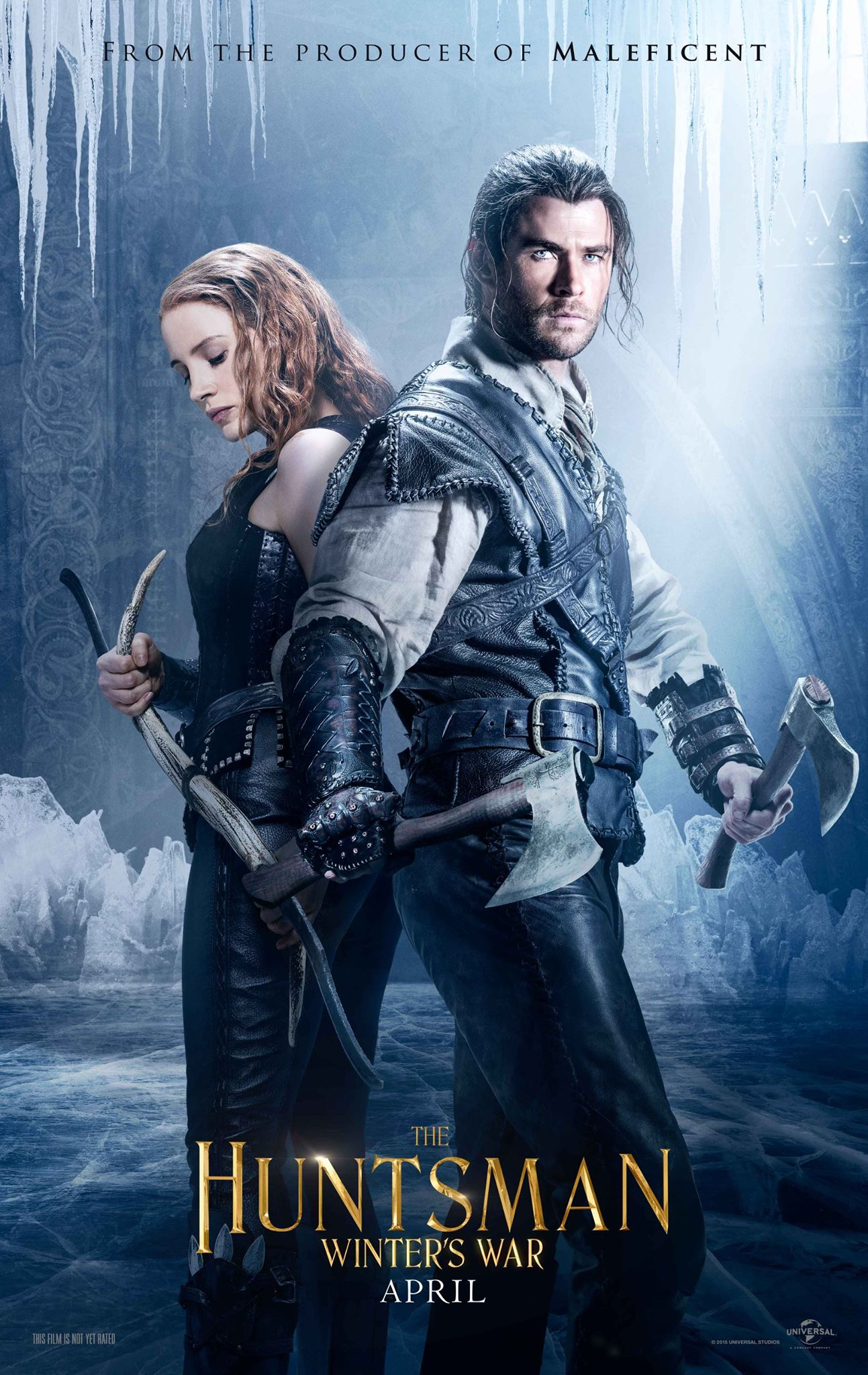 El cazador y la reina del hielo (The Huntsman: Winter's War) ()
