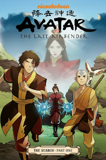 Avatar The Search nominated for GoodReads's best graphic novel