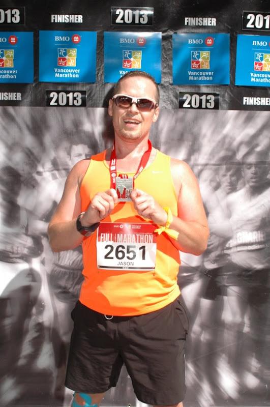 Vancouver Marathon Finisher 2013