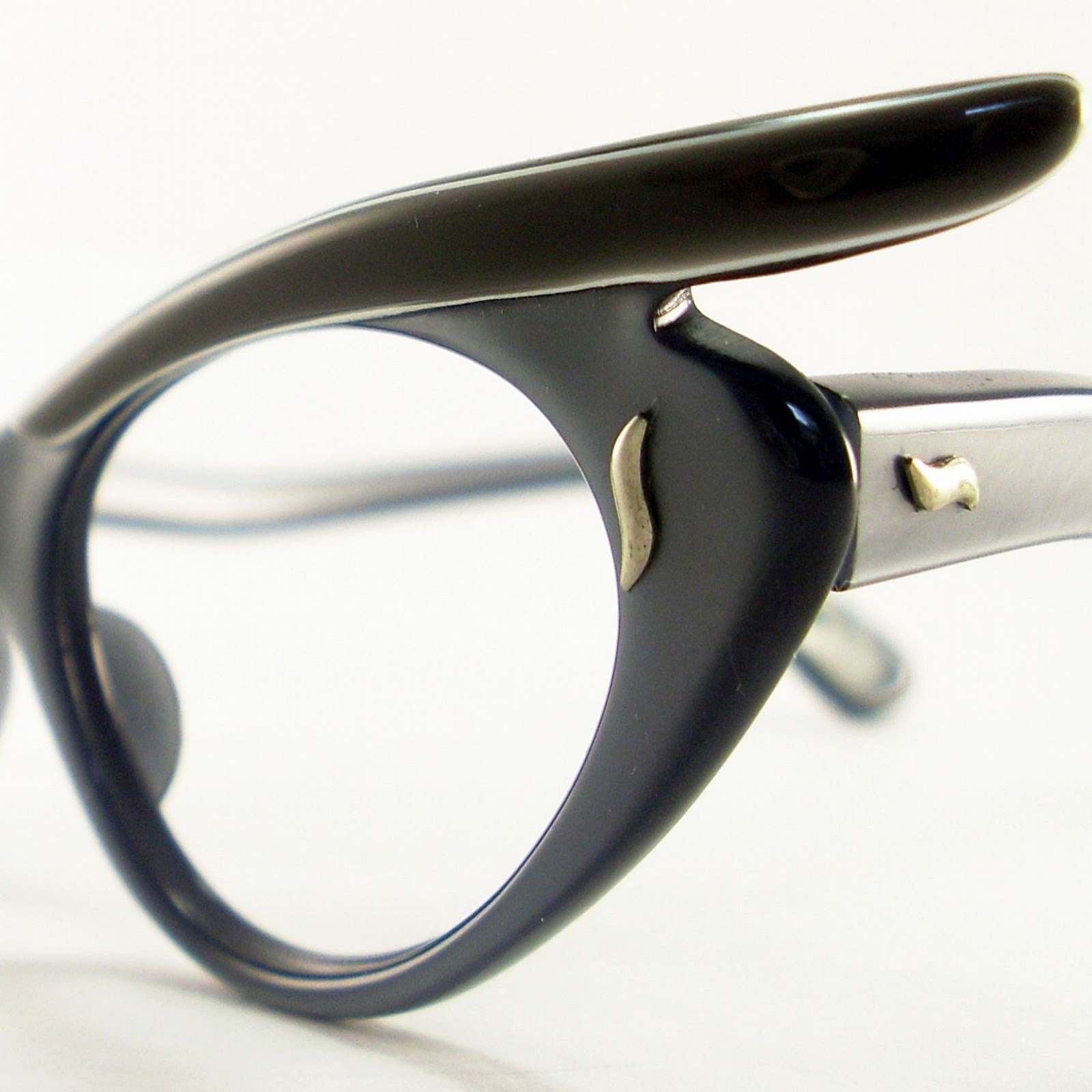 Cat Eye Frame Eye Glasses : Vintage Eyeglasses Frames Eyewear Sunglasses 50S: CAT EYE ...