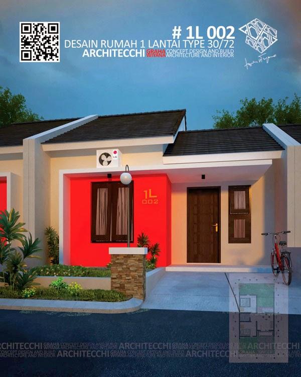 Desain Rumah 1 Lantai type 30
