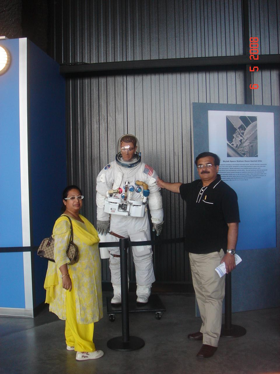 Astronaut at Huntsville,USA