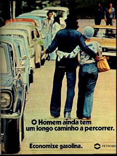 propagandaPetrobras - 1976. reclame de carros anos 70. brazilian advertising cars in the 70. os anos 70. história da década de 70; Brazil in the 70s; propaganda carros anos 70; Oswaldo Hernandez;