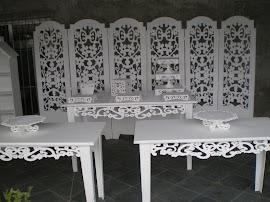 mesa provençal 150x80x80