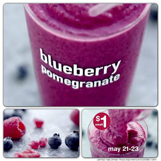 McDonald's – Try the New Blueberry Pomegranate Smoothie For Just $1