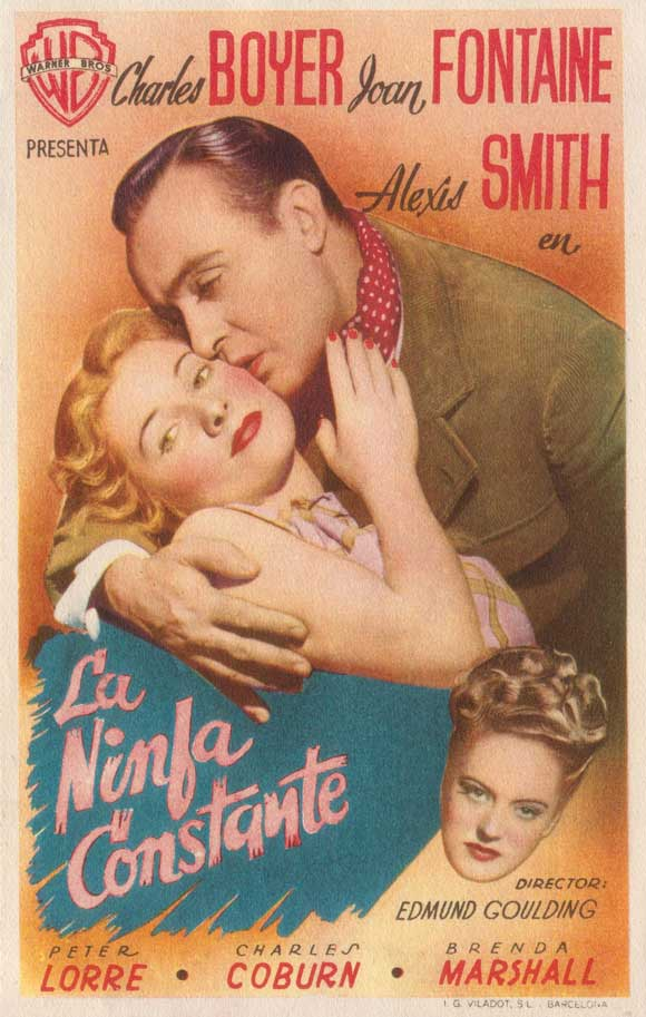 The constant nymph Joan Fontaine Charles Boyer movie poster print 2