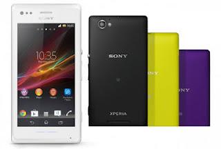 gambar Sony Xperia M