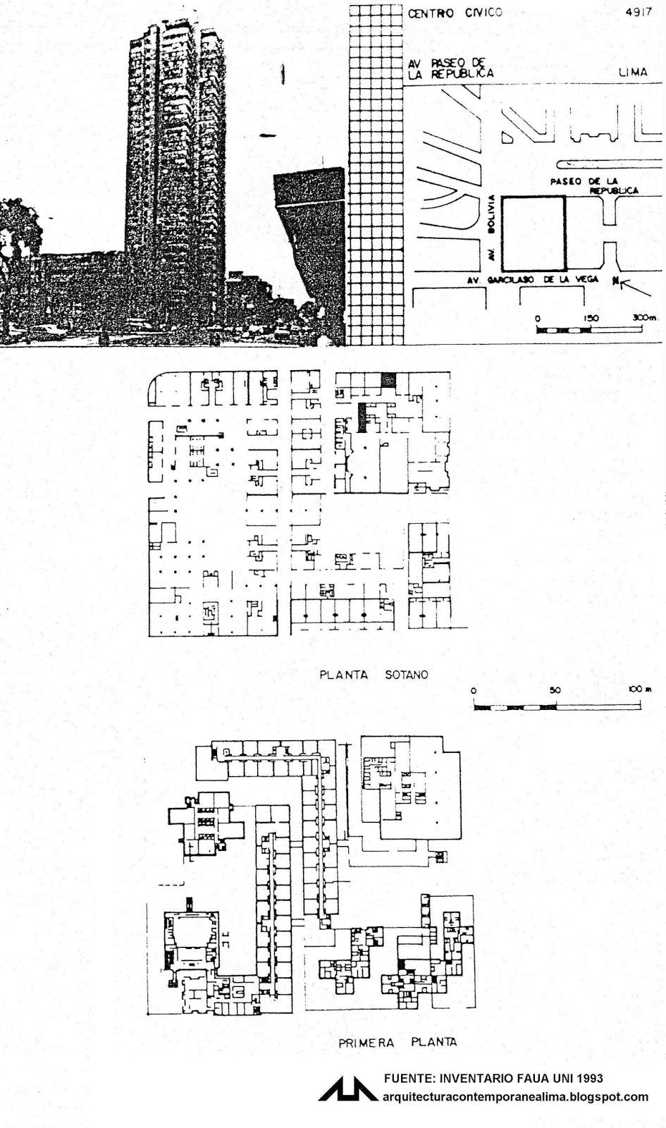 Arquitectura contemporanea de lima 4917 centro civico de lima for Ministerio de pesqueria