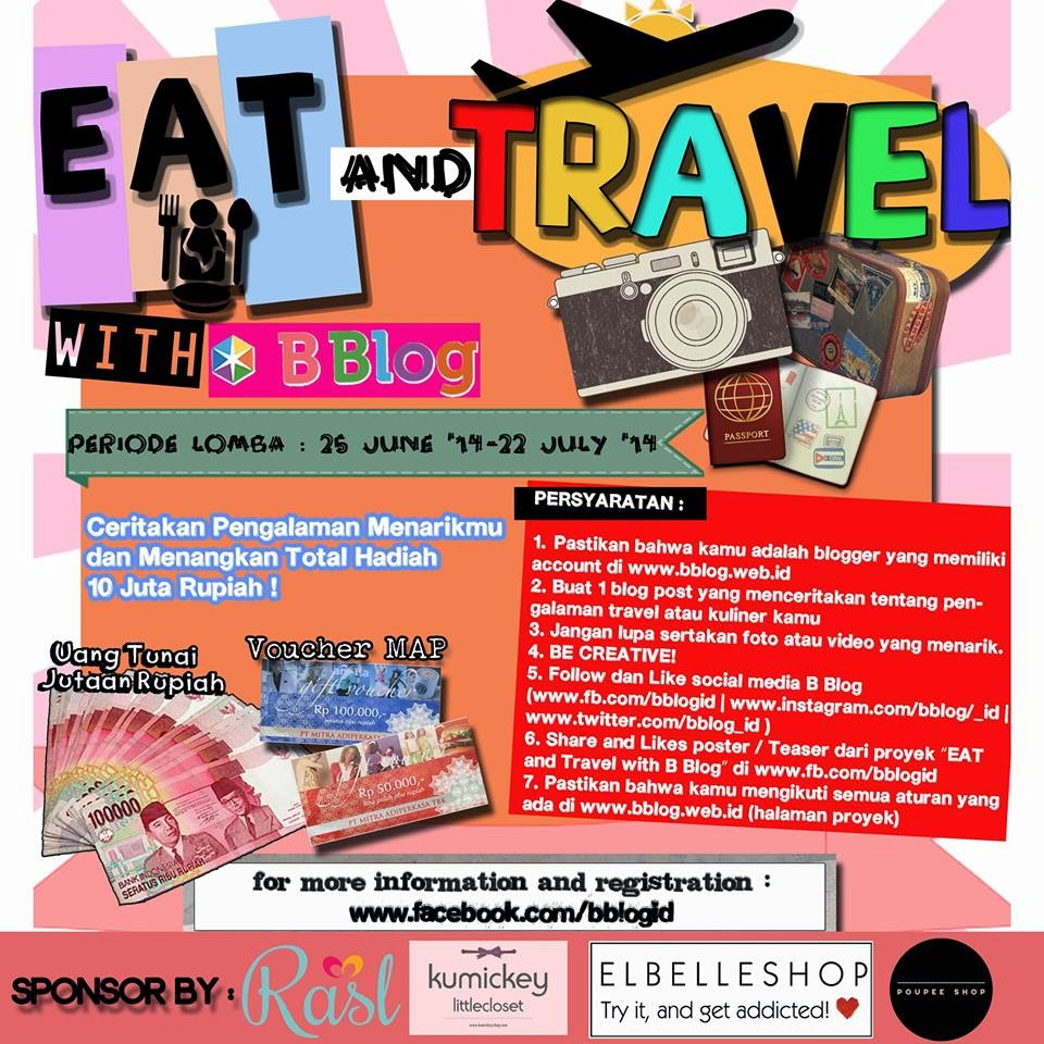 Eat and Travel with BBlog Competition