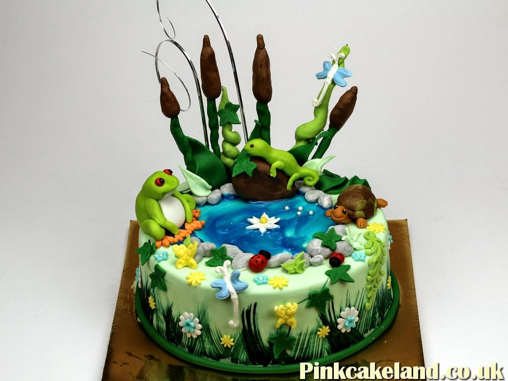 Pond Birthday Cake in London