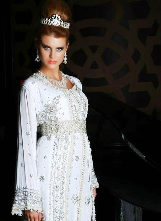 Caftan marocain 2014 de mariées fablious