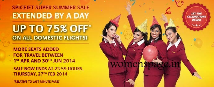 Discount coupons for spicejet domestic flights