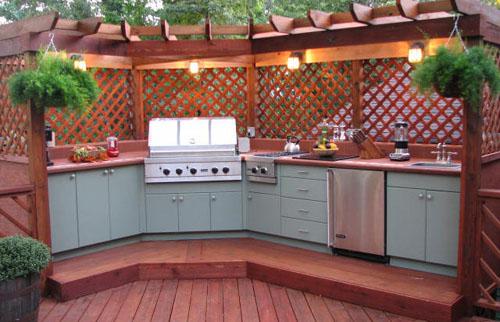 Kitchen Outdoor Design Ideas