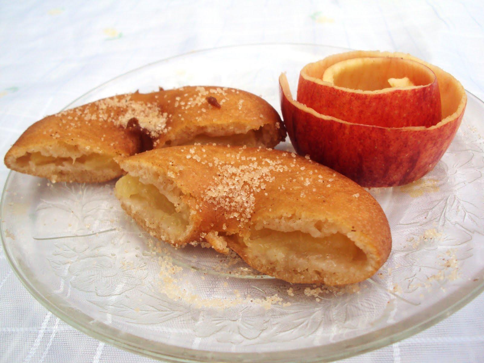 Anéis Dourados de Maçã (Apple Fritter Rings) | Nárwen's Cuisine