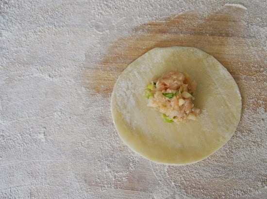 how to keep dumplings from sticking together