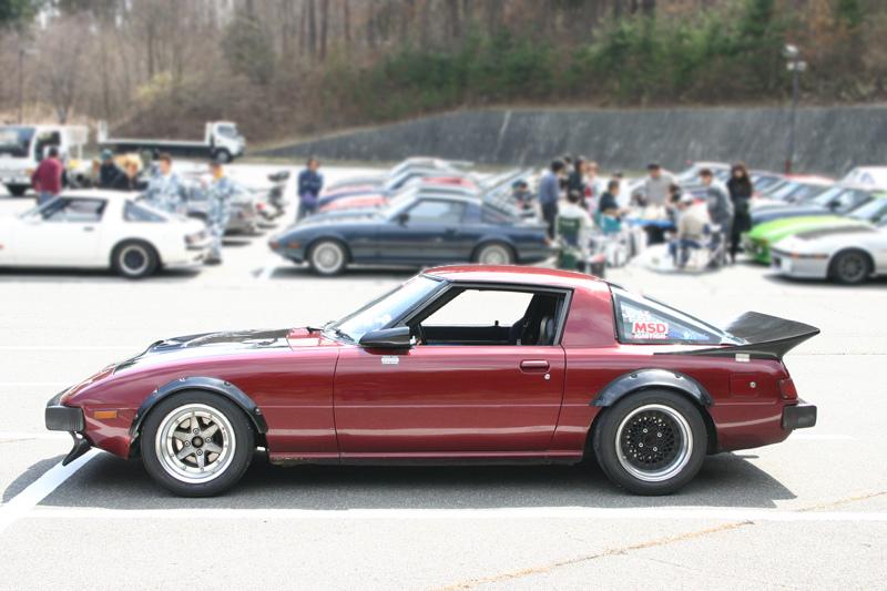 Mazda RX-7 SC22A/FB  stary japoński samochód, klasyk, oldschool, 日本車, クラシックカー