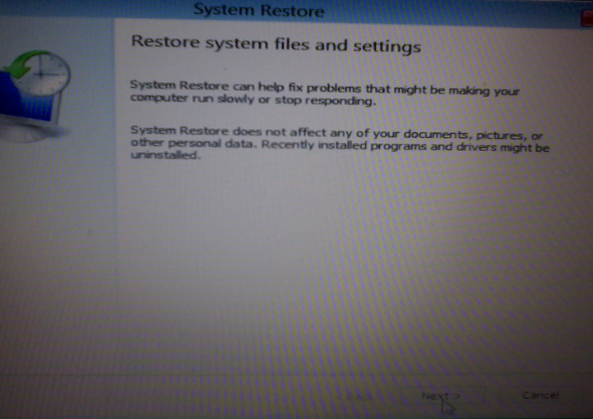 Restore deleted files from hard disk