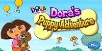 Игра Приключение Доры и щенка