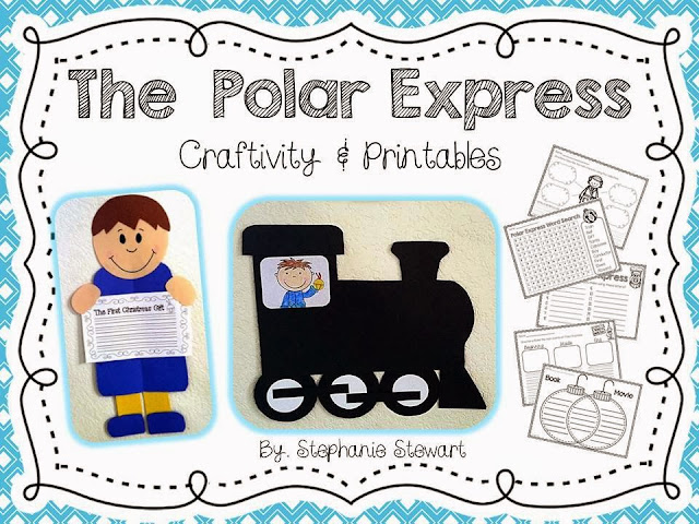 http://www.teacherspayteachers.com/Product/Polar-Express-Christmas-Craftivity-Writing-Printables-450209