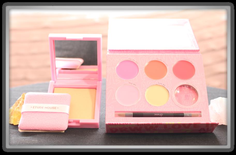 겟잇뷰티박스 by 미미박스 memebox beautybox Special #36 Meme's Pouch unboxing review box etude house blotting paper pact drww mix match set