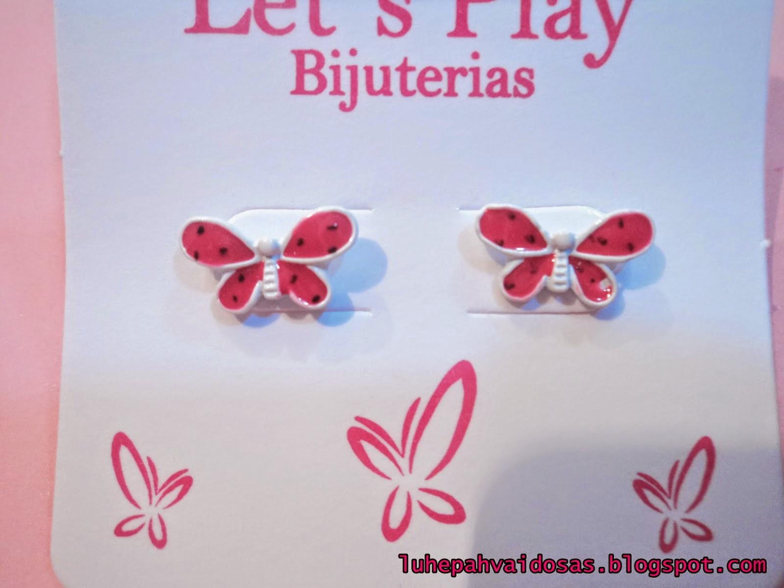 brinco de borboleta