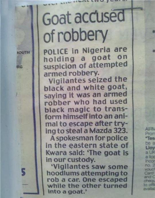 funny newspaper headlines. Funny Newspaper Headlines: