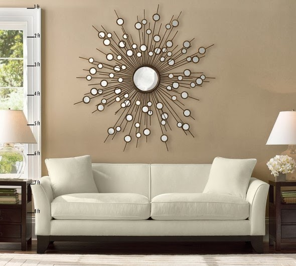 Living Room Interior Design: Decorate Cracks Of Mirror, How To Decorate A  Crack Mirror Of Living Room