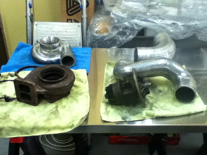 Used Greddy turbo kit