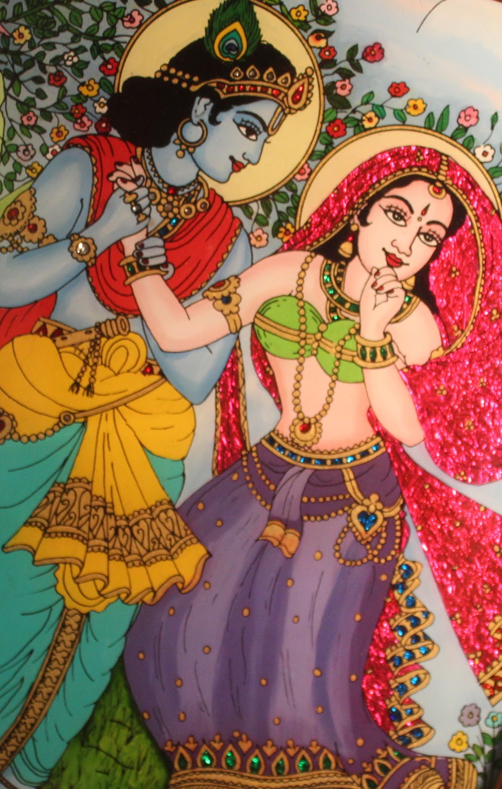 Radha-Krishna Leela - The Immortal Love Story | SaARanGa - A new ...