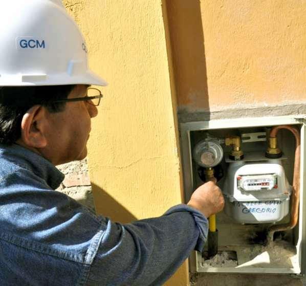 Gas domiciliario en El Alto