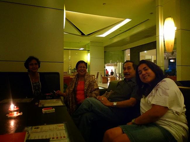 Nos acomodamos en el Airman del hotel Sultán