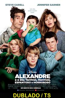 Assistir Alexandre e o Dia Terrível, Horrível, Espantoso e Horroroso Dublado 2014