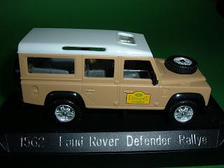 Vendo Miniaturas Land Rover / RANGE ROVER Land+Rover+Defender+Rallye