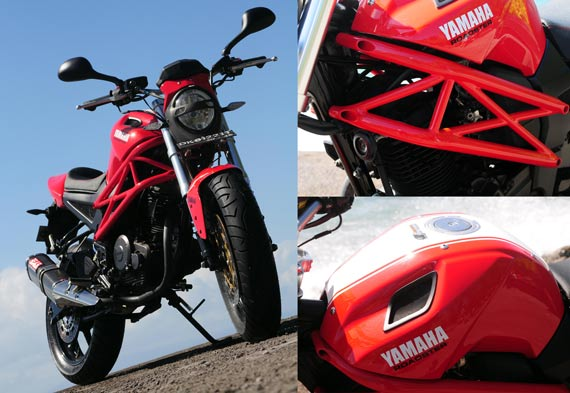 Byson Modif Ducati Monster 150 title=