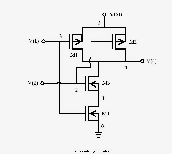 Cmos nand gate circuit diagram 28 images 4011 for Circuit nand