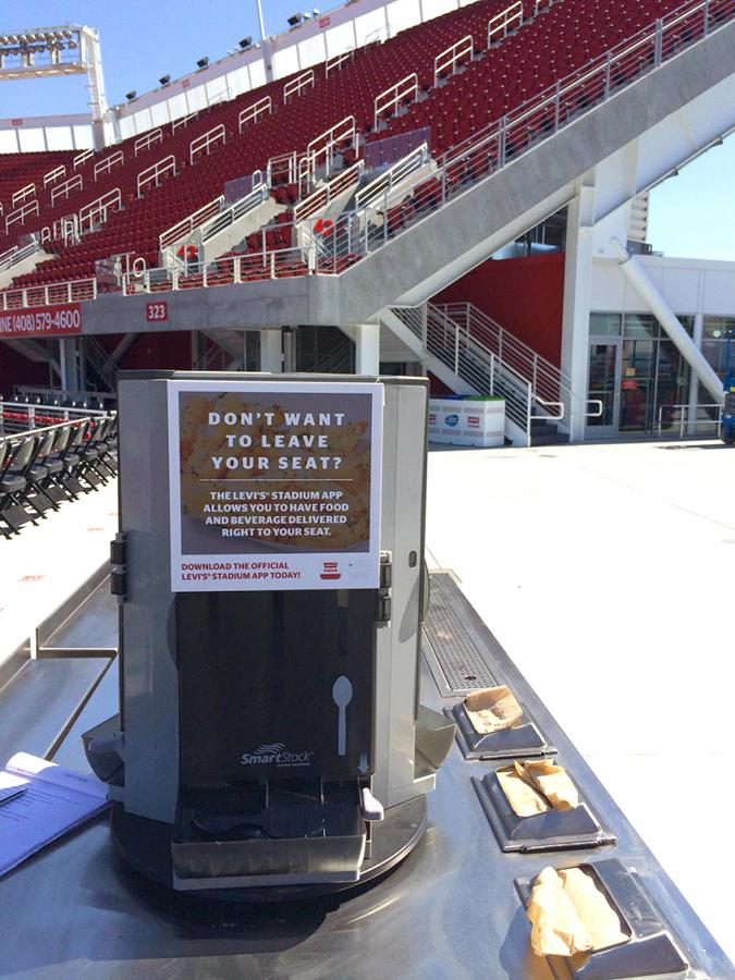 levi's stadium wifi details