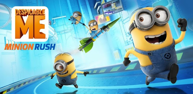 Minion Rush 1.4 Apk Mod Full Version Data Files Download Despicable Me-iANDROID Games