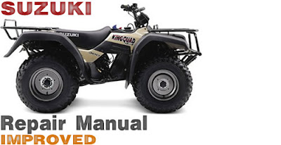 Suzuki king quad 300 service manual