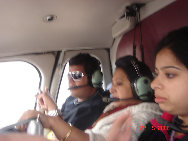 Inside Helicopter at Grand Canyon, USA