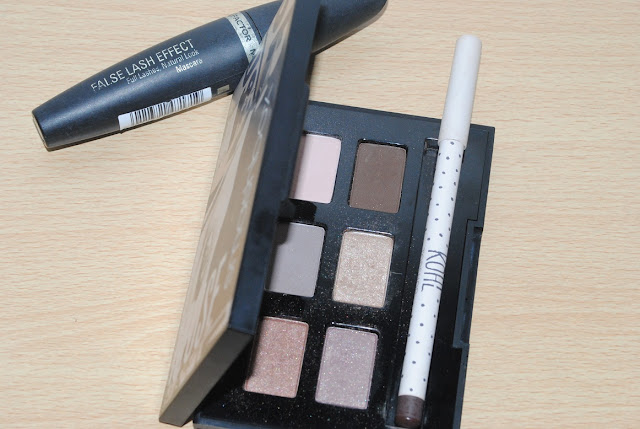 Max Factor False Lash Effect Mascara, Smashbox Photo Op Palette and Topshop Kohl