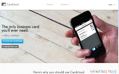 cardcloud Top 9 Websites to Make Free Online Business Cards