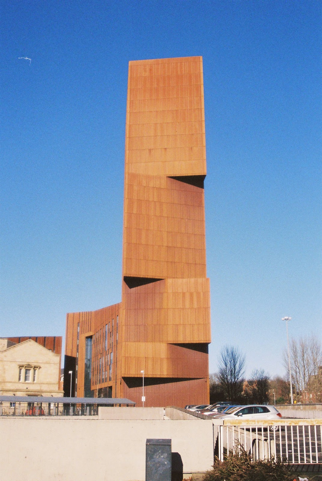 Broadcasting tower, Leeds, Pentax P30, Lomo Colour negative