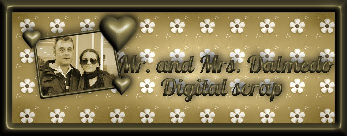 Mr. and Mrs. Dalmedo, Digital Scrap